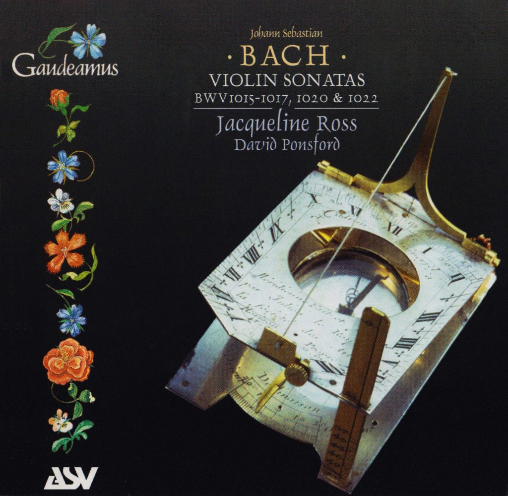 Violin Sonatas BWV 1015-1017,1020 & 1022